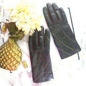 Aris leather gloves